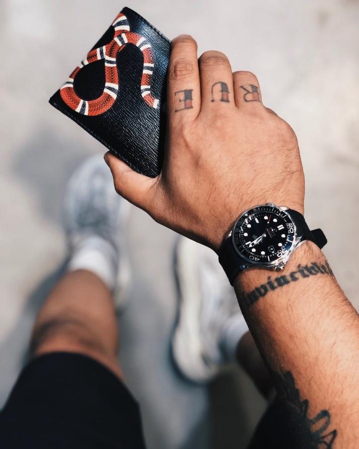 Indian Luxury Menswear Blogger