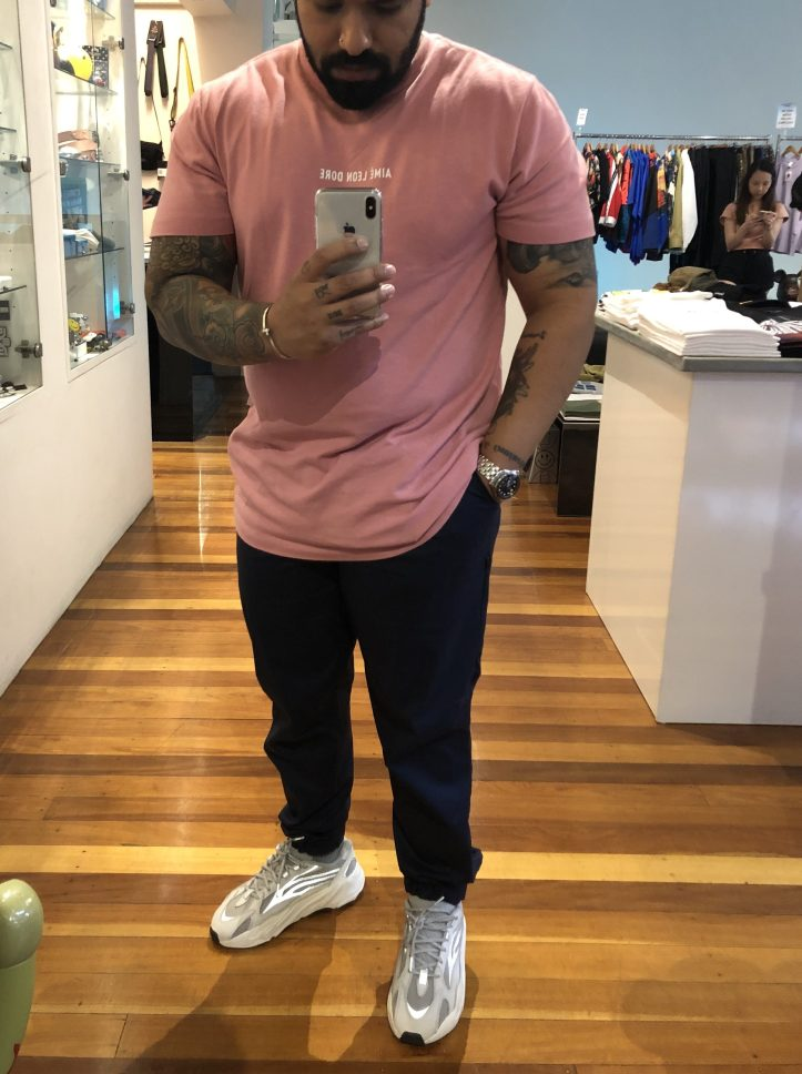 Shopping at Laced Brisbane